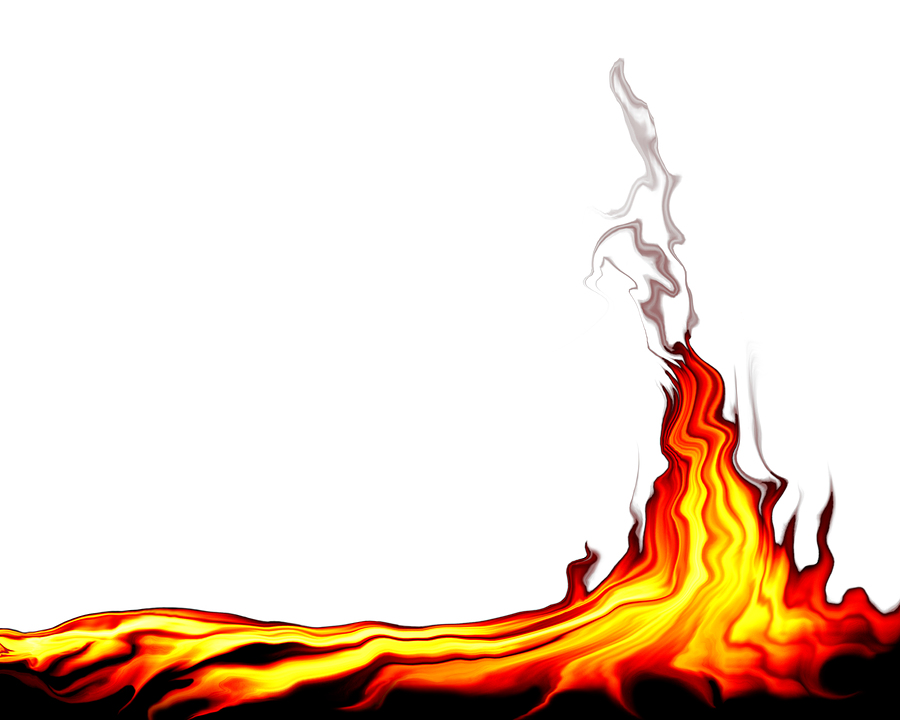 Bild på en flammande eld som ska spegla heta plugins till WP
