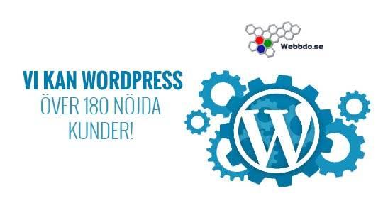 Webbdo och WordPress logga