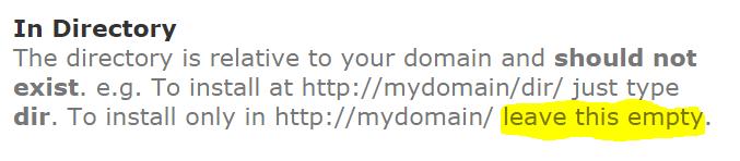 Wordpress - Katalog att installlera det i