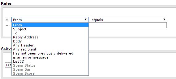 Olika regler för e-post