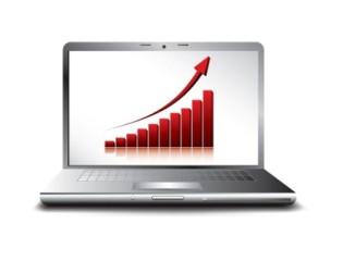 Affärskoncept med webbhotell