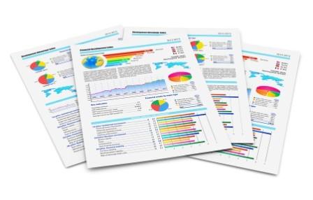 Visar priskorrigering och balansrapport