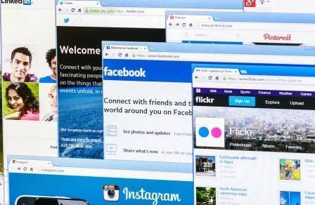 Delningar på Facebook och Twitter samt länkar