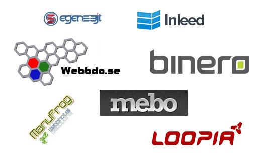 Samarbete mellan webbhotell