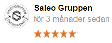 Omdöme från Saleo Gruppen